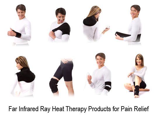 Farinfraredrayheattherapyproductsforpainrelief