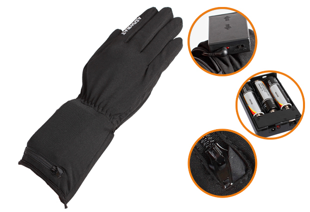 AA Battery Glove Liner